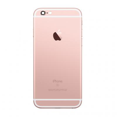 Корпус для iPhone 6S Plus розовый (Rose gold) оригинал