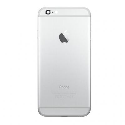 Корпус iPhone 6S Plus Silver белого цвета оригинал