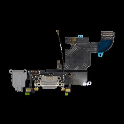 Нижний шлейф порта зарядки и аудио разъёма для iPhone 6S оригинал