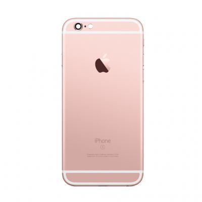Корпус для iPhone 6S розовый Pink Gold оригинал