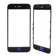 Стекло для iPhone 6S черное оригинал