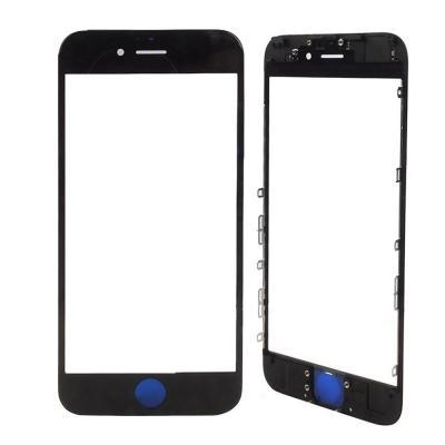 Стекло iPhone 6S Plus черного цвета оригинал