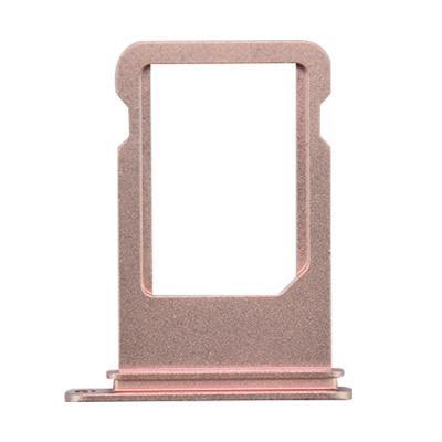 SIM-лоток для Nano сим карты Айфон 7 Плюс Розовое золото (Rose gold)