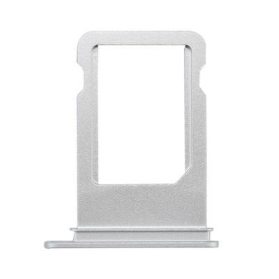 SIM-лоток для Nano сим карты Айфон 7 Плюс Серебристый, Белый