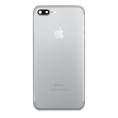 Задняя крышка iPhone 7 + Серебристая, Белая