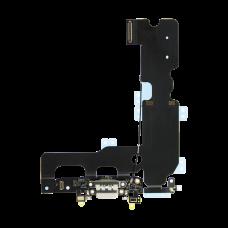 Нижний шлейф порта зарядки iPhone 7 Plus Белый (White), Оригинал