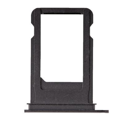 SIM-лоток для Nano сим карты Айфон 7 Черный матовый (Black)