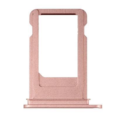 SIM-лоток для Nano сим карты Айфон 7 Розовый (Rose gold)