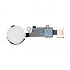 Шлейф кнопки Hоme для iPhone 7 Серебристая, Белая (Silver, White), Оригинал