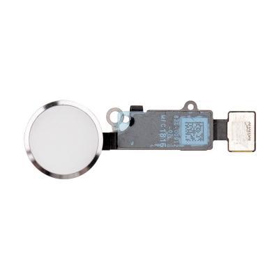 Кнопка и Шлейф Hоme iPhone 7 Серебристый (Silver, White)