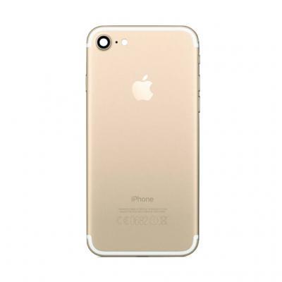 Задняя крышка Айфон 7 Золотая