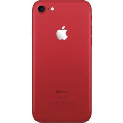 Задняя крышка Айфон 7 ярко-красная (PRODUCT) RED ™