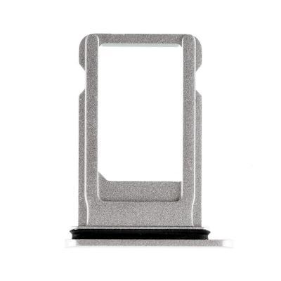 SIM-лоток для Nano сим карты iPhone 8 Plus Белый (Silver)