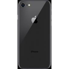 Задняя крышка iPhone 8 Черная (Black)