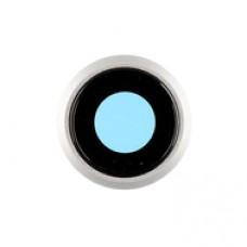 Линза задней камеры iPhone 8 Белое