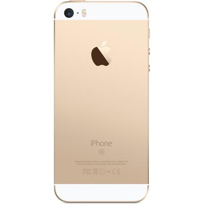 Задняя крышка для iPhone SE Золотая