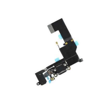Аудио шлейф с системным портом для iPhone SE Черный