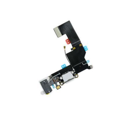 Аудио шлейф с системным портом для iPhone SE Белый