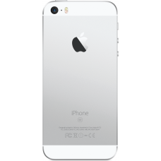 Корпус для iPhone SE Белый, Серебряный (Silver, White) оригинал