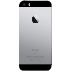 Корпус для iPhone SE Серый космос, Черный (Space gray, Black) оригинал