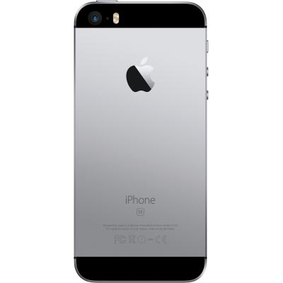 Задняя крышка для iPhone SE Черная