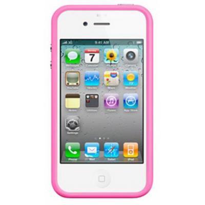 Бампер для iPhone 4/4s Розовый