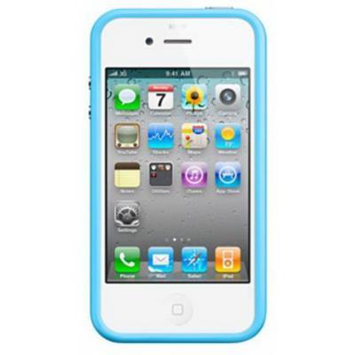 Бампер для iPhone 4/4s Бирюзовый