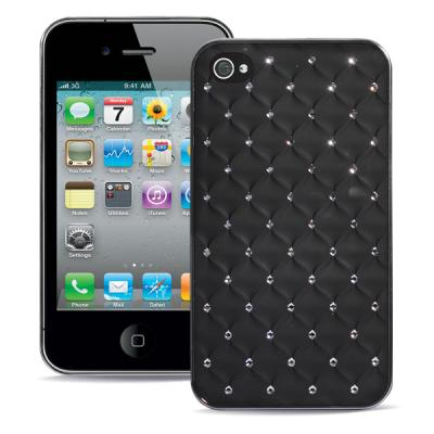 Чехол для iPhone 4/4s Diamond Cover Черный