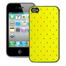 Чехол для iPhone 4/4s Diamond Cover Желтый