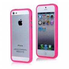 Бампер для iPhone 5/5S Розовый
