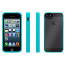 Чехол для iPhone 5 Bumper Case Бирюзовый