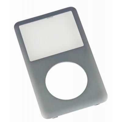 Передняя панель корпуса iPod Classic серебристая