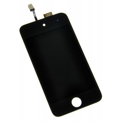Экран для iPod Touch 4 в сборе с дисплеем черный оригинал