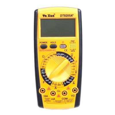 Мультиметр фирмы Ya Xun серия DT9205A+
