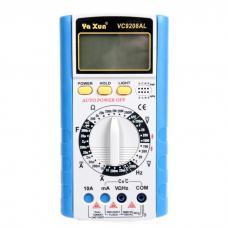 Мультиметр фирмы Ya Xun  VC9208AL