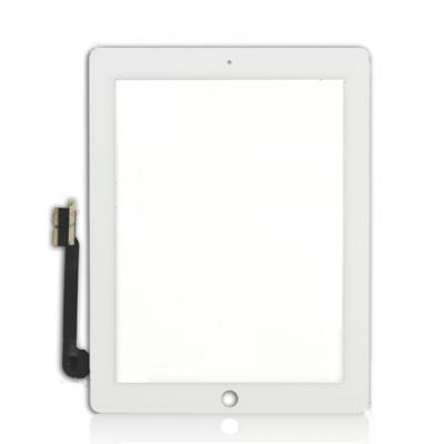 Стекло iPad 4 белое OEM оригинал