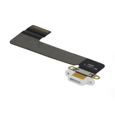 Нижний шлейф для iPad Mini с док-разъемом Белого цвета, оригинал