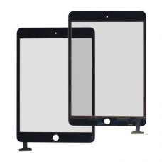 Стекло тачскрин для iPad Mini/ Mini2 + кнопка HOME, черное, Retina